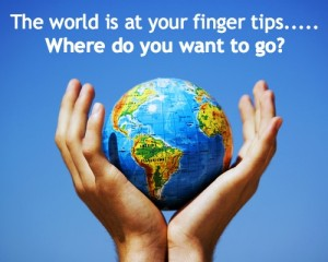 the world at your finger tips