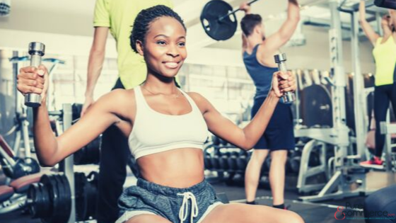 the rise of the gym - reasons for  starting an online business
