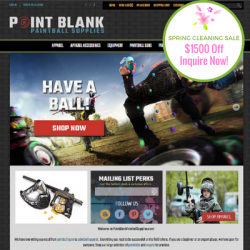 PointBlankPaintballSupplies.com