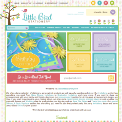 LittleBirdStationery.com