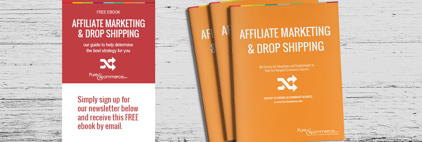 Free Ebook - Affiliate Marketing and Drop Shipping