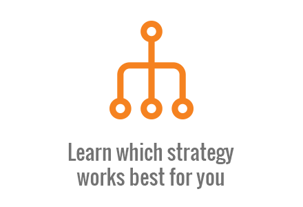 Learn which strategy works best for you