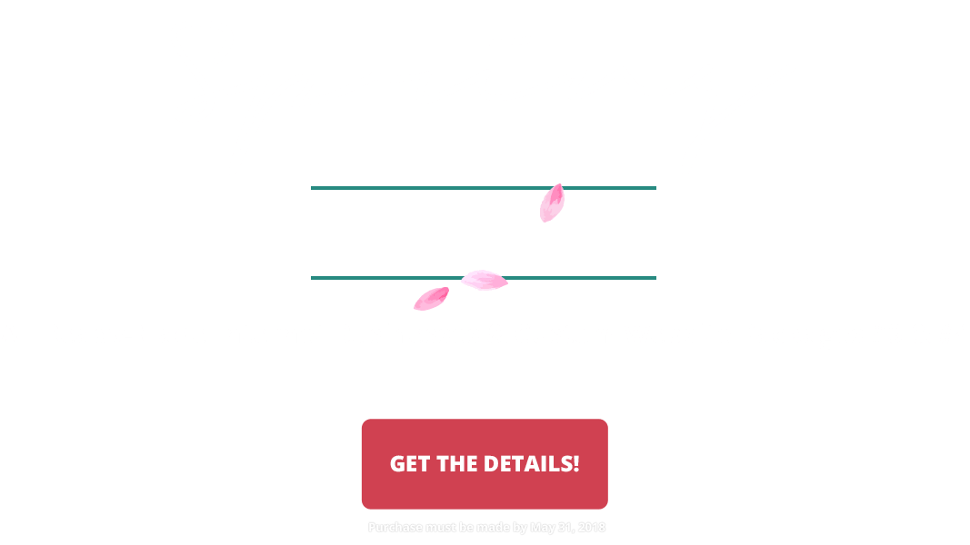 2018 Spring Into An Online Business Sale - Save $800 off ALL ready-made internet businesses OR Custom #3 or #4 packages. Purchase by May 31, 2018