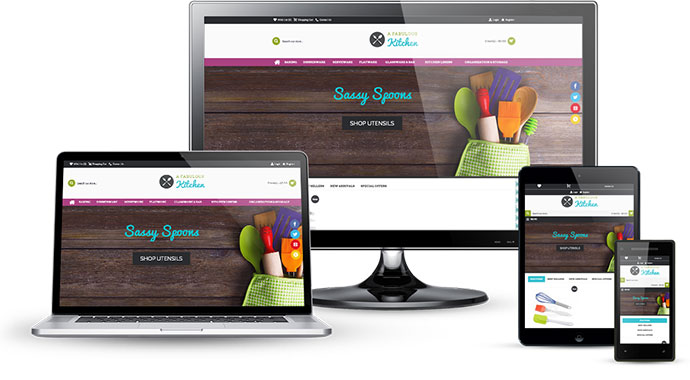 Responsive ecommerce businesses that work on multiple devices