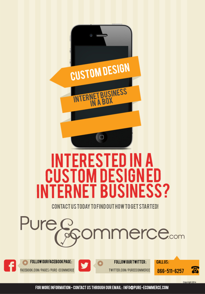 Custom Design Internet Business In a Box - Get More Information from Pure-Ecommerce Image