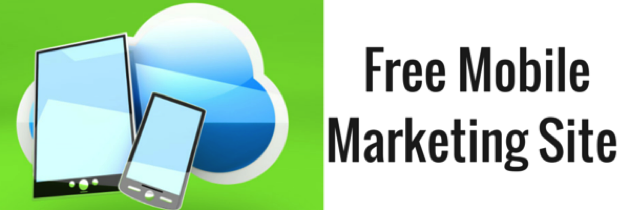 Free Mobile Marketing Site