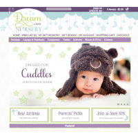 Online Baby Boutique Website for Sale